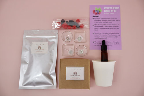 DIY Set - Assorted Berries Candle