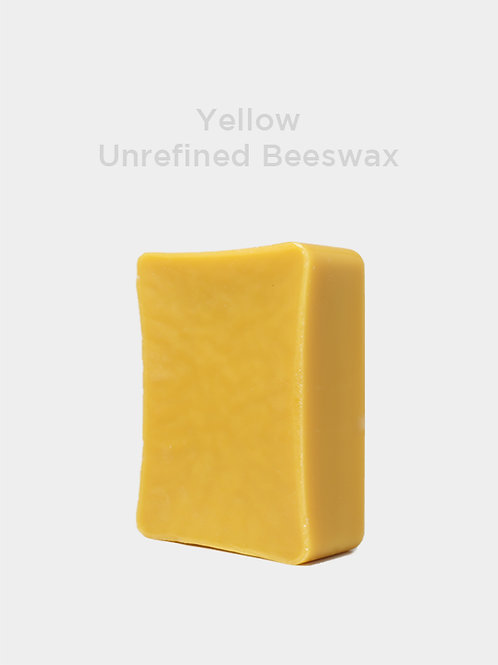 Unrefined Beeswax - Yellow 1kg