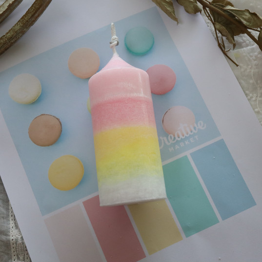 Color Layered Candle.JPG