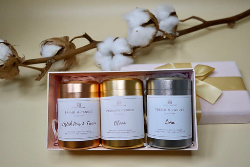 Travel Candle Set (3 in a set)