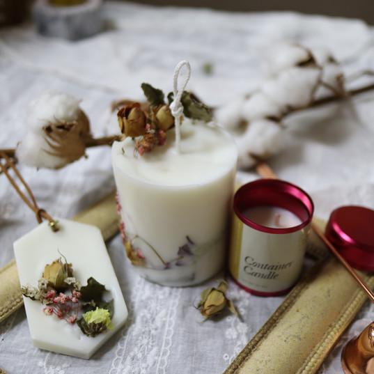 Floral Fantasy Candle.JPG