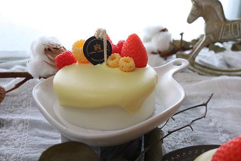 Mini Cake Candle + Bojagi Wrapping Set