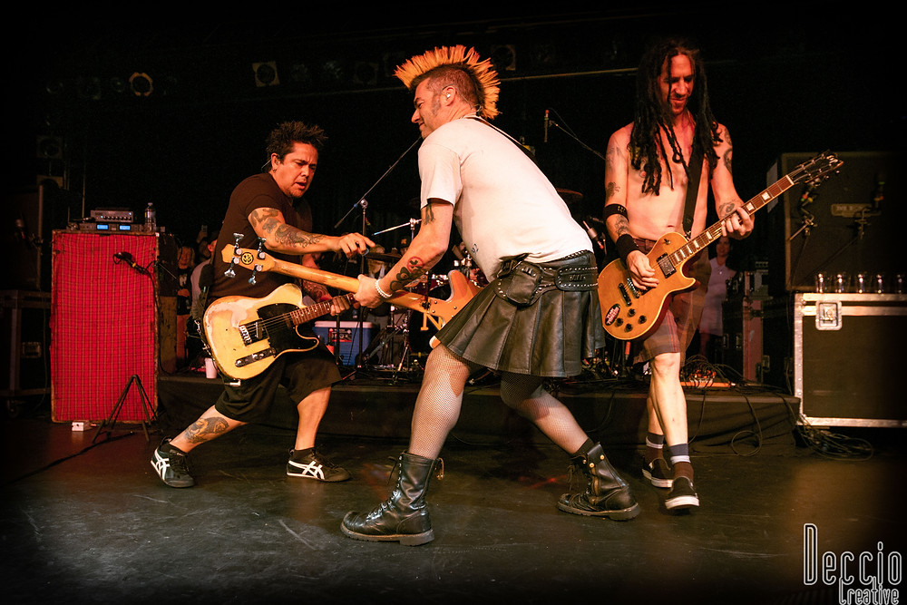 Legendary punk band NOFX performs to a sold out crowd at Seattle's Showbox SODO. Photo by Xander Deccio/Deccio Creative
