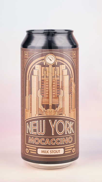 Mad Scientist New York Mocaccino Milk Stout 440ml Can