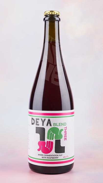 DEYA Blend 3 Barrel Aged Ale with Raspberries
