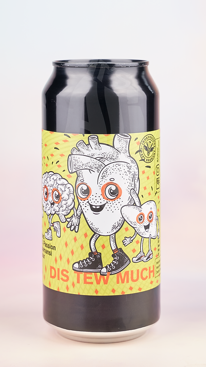 Mad Scientist Dis New Much Double Fruited Sour 440ml Can