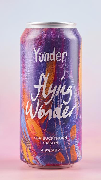 Yonder Flying Wonder Saison 440ml can