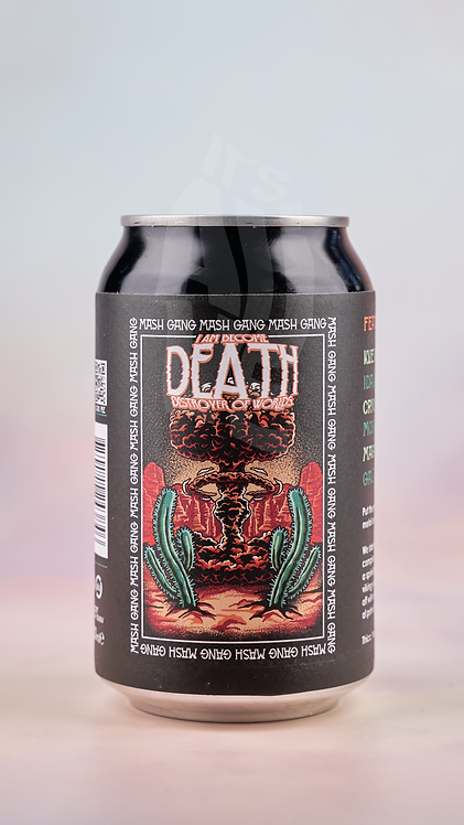 Mash Gang I Am Become Death Destroyer of Worlds Alcohol Free NEIPA (0.5% ABV)