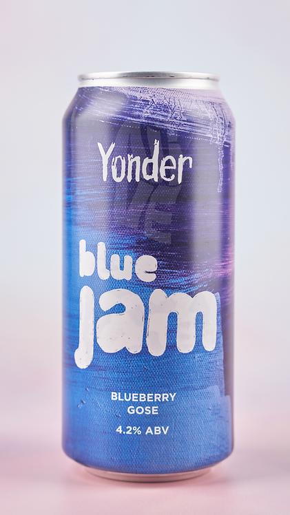 Yonder Blue Jam Gose 440ml can