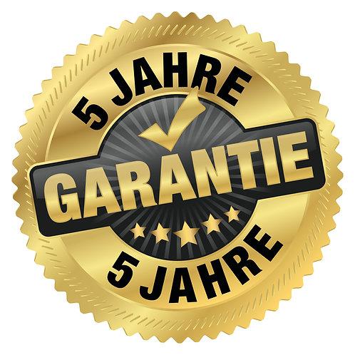 5 Jahre (2+3) Garantie
