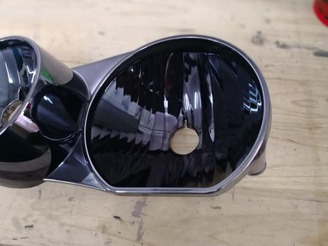 Foncsorozás - BMW 1 - fekete