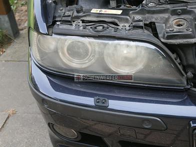 BMW E39 Scheinwerfer vorher