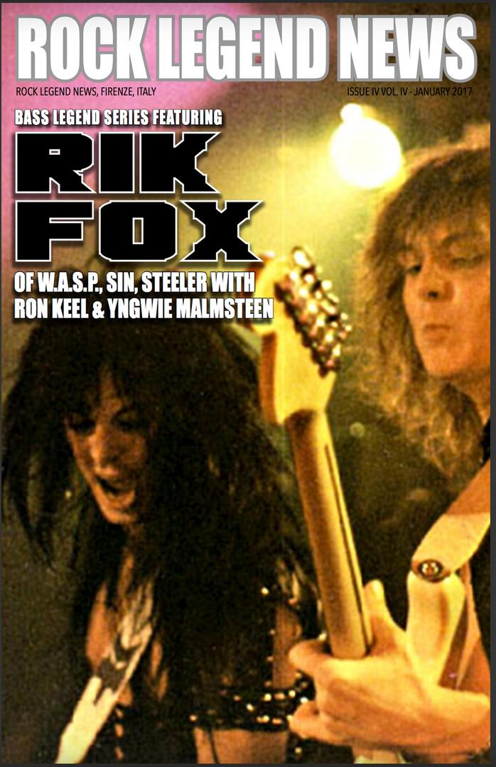 January 2017 Featuring Rik Fox