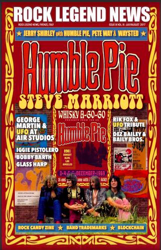 June 2017 Featuring Humble Pie Steve Marriott