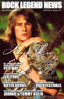 May 2017 Featuring Alvin Lee