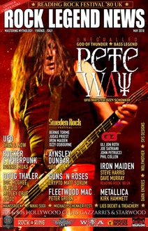 Rock Legend News May 2018 Issue