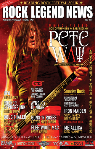 May 2018 Featuring Pete Way