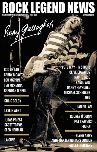 November 2018 Featuring Rory Gallagher