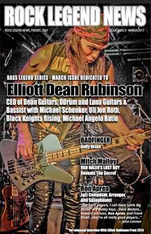March 2017 Featuring Elliott Dean Rubinson