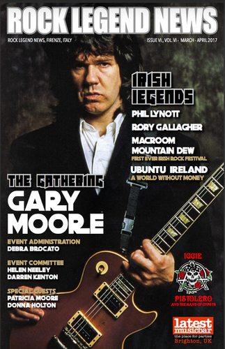 March 2017 Featuring Gary Moore