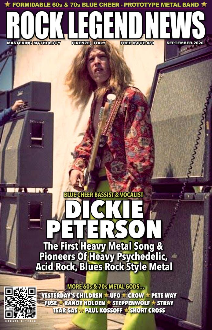 September 2020 Dickie Peterson Founder Blue Cheer