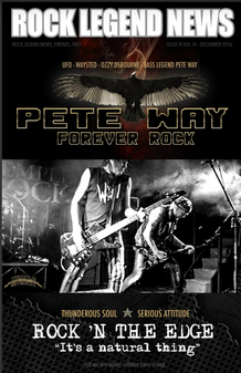 December 2016 Featuring Pete Way