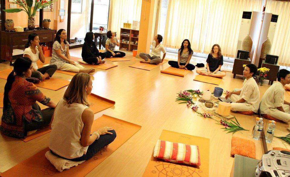 Tibetan Singing Bowl workshop