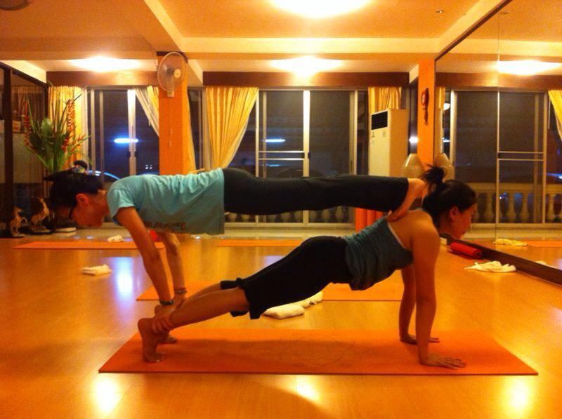 Hatha Yoga class at Prem Yoga