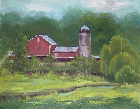 Clarendon_M_A Maryland Farm_oil_11 x 14_