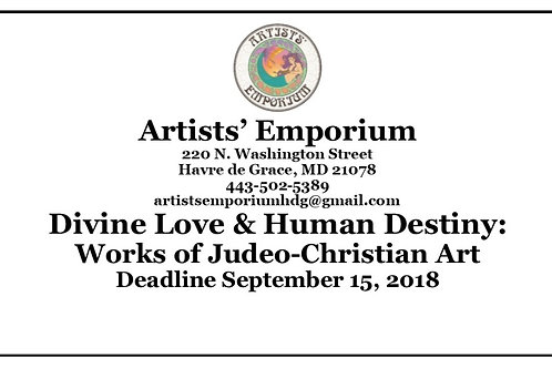 Call to Artist Image Submission Fee