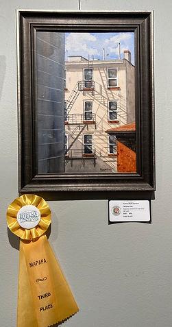 "Kathleen Ryan Gardiner ""Window View"" THIRD PLACE MAPAPA"