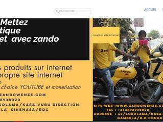 mettez votre boutique en ligne avec internetmonde et zando solution