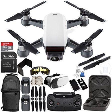 mini drone dji spark avec télécommande