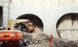 Construction engineering TBM tunnel and underground structures