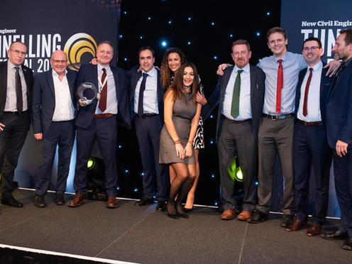 Northern Line Extension wins New Civil Engineer's Tunnelling project of the Year 2018
