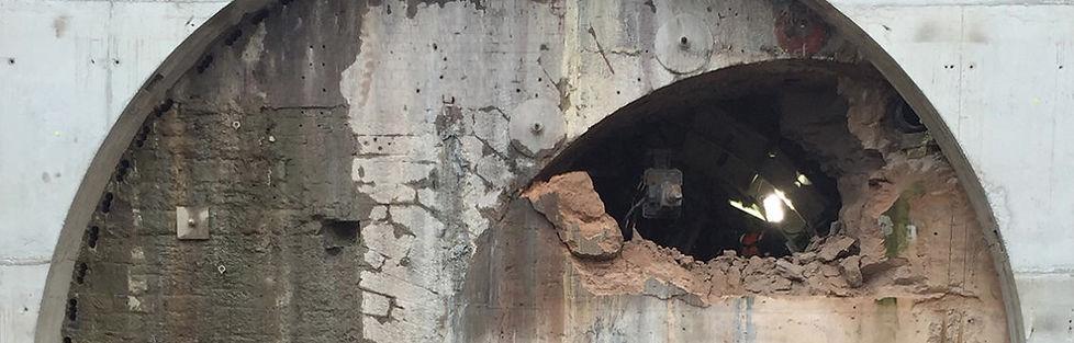 Farnworth tunnel TBM underground civil engineering