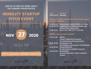 본투글로벌센터, 자율주행 시대 이끌 모빌리티 혁신기업 4곳 공개