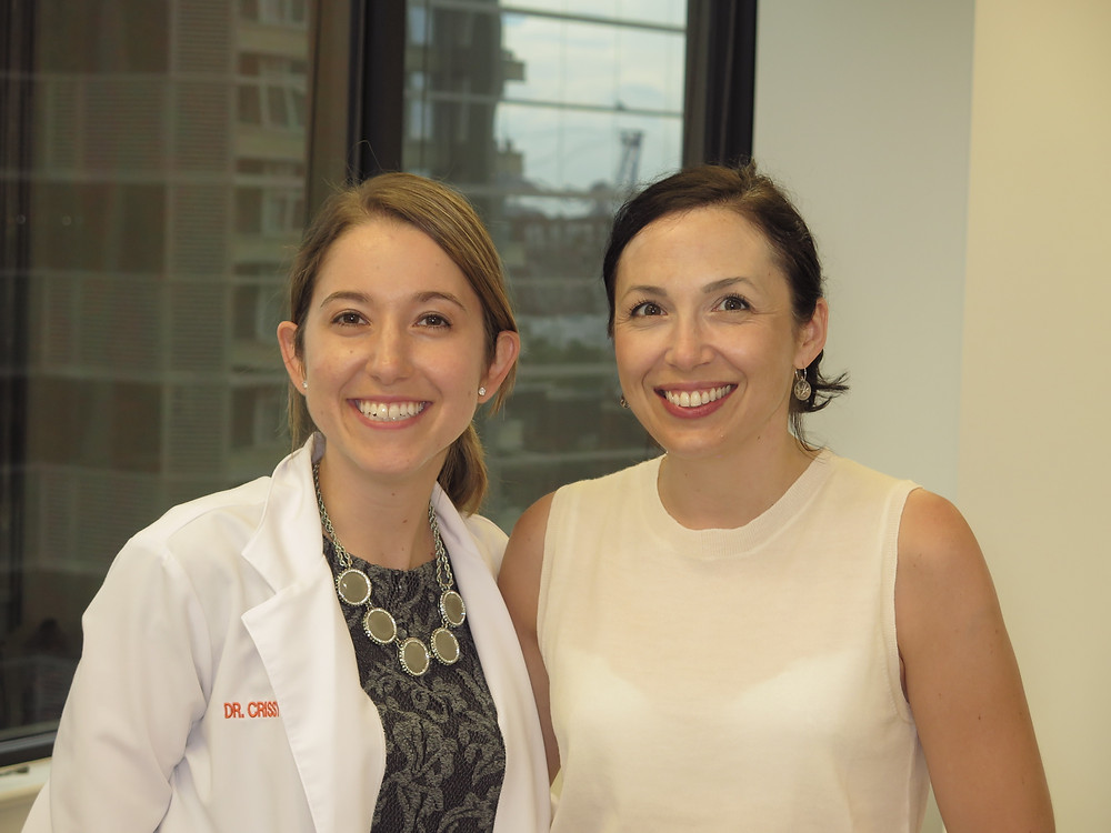 Dr. Markova and one of our amazing Invisalign patients in Arlington, VA