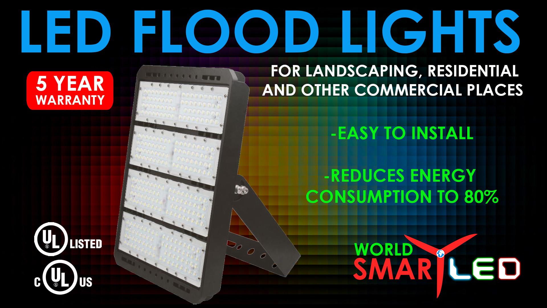 LED FLOOD LIGHT AD