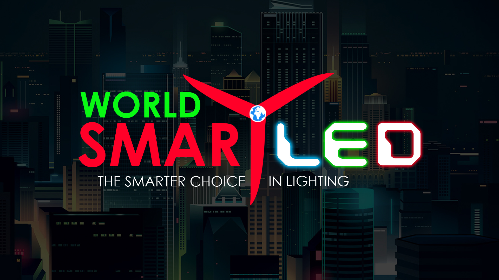 World Smart LED Logo