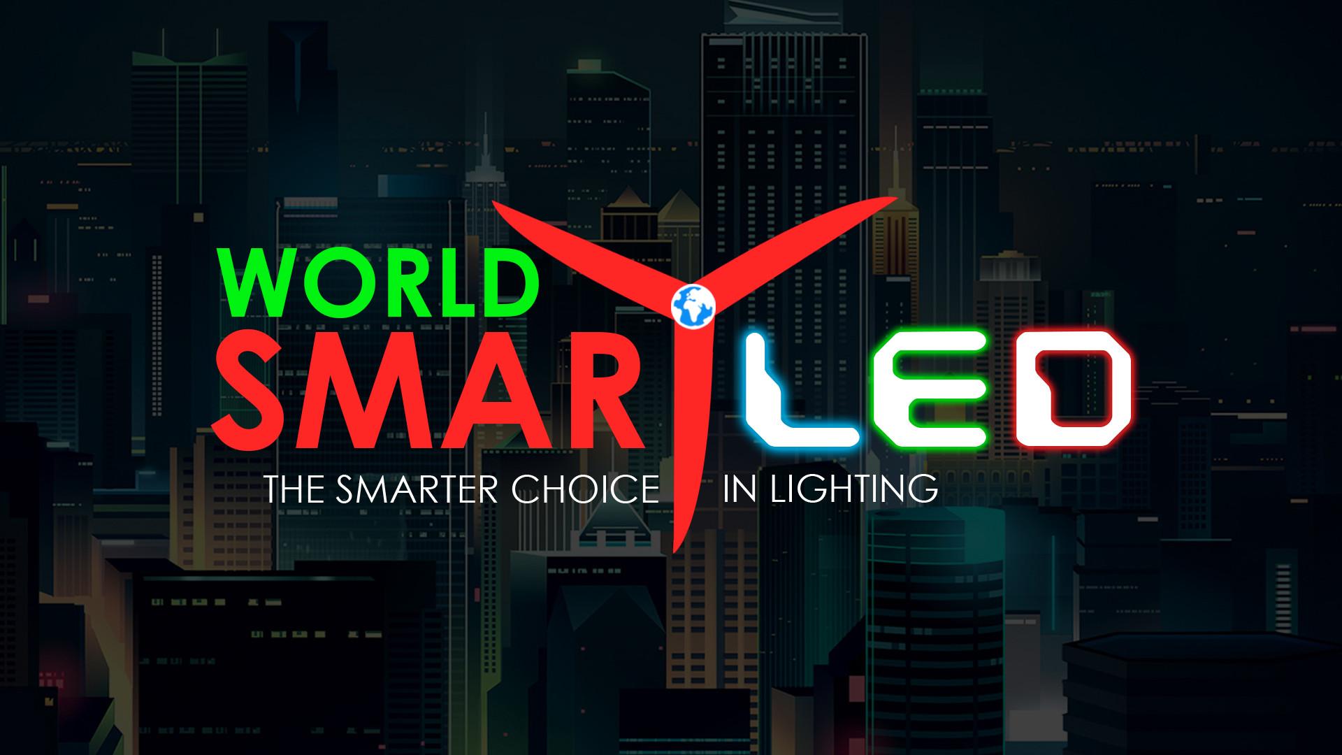 World Smart LED Logo