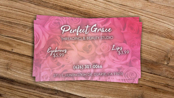 Perfect Grace Business Cards