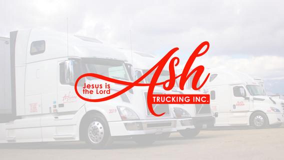 Ash Trucking Logo