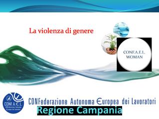 Confael Woman - IO CI METTO LA FACCIA CONTRO LA VIOLENZA