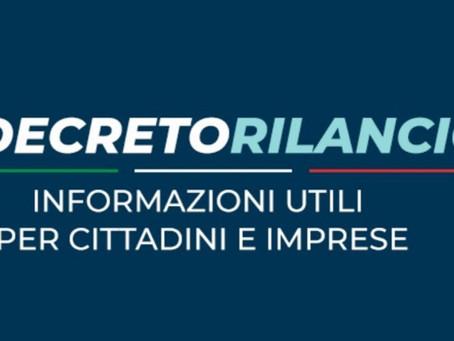 DECRETO RILANCIO - Informazioni Utili