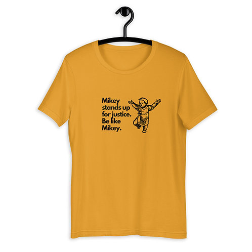 Mikey Stands Up Short-Sleeve Unisex T-Shirt