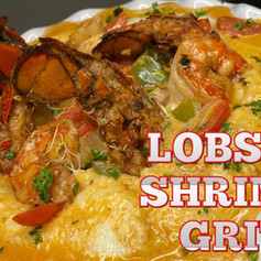 Cajun Lobster Shrimp & Grits