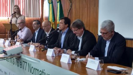 Cooperativas agropecuárias participam de reunião sobre IN's 76 e 77