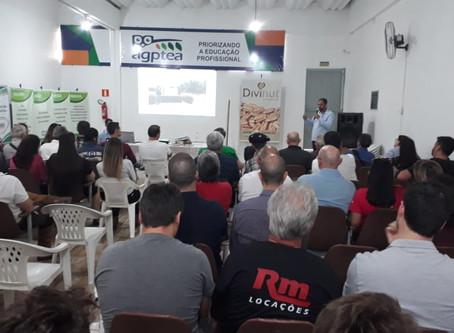 Empresário apresenta potencialidades do mercado de noz-pecã na Agptea