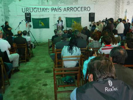 RiceTec presente na Abertura Oficial da Colheita do Arroz no Uruguai
